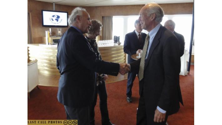 Jorgen randers e Roberto Peccei, vice-presidente del Club di Roma
